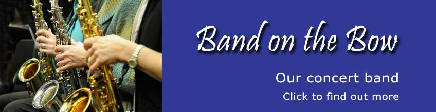 Cochrane's Band on the Bow concert Band