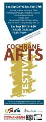 2013 Cochrane Arts Festival Poster
