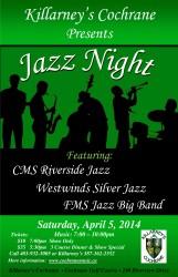 Jazz Night at Killarney's 2014