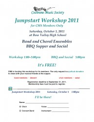 Jumpstart Workshop 2011