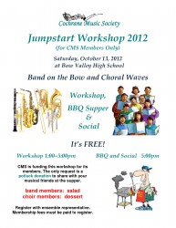 Jumpstart Workshop 2012