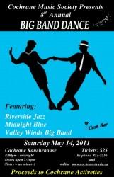 Big Band Dance 2011 Poster