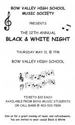 BVHS Black & White Night 2012