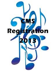 CMS Registration 2013