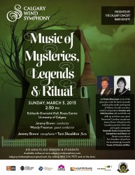 Calgary Wind Symphony March 2013 Concert