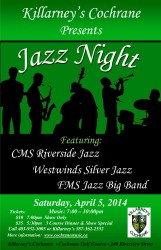 Jazz Night at Killarney's 2014