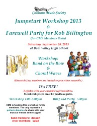 Jumpstart Workshop 2013