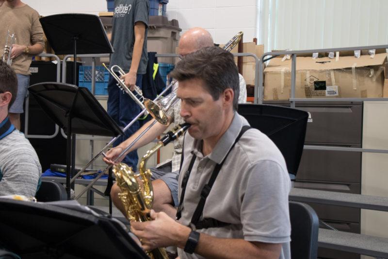 Riverside Jazz Rehearsal