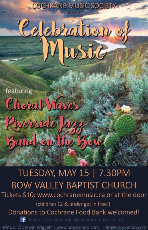 Celebration of Music Spring Concert by the Cochrane Music Society