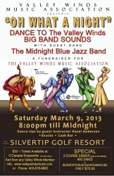 VW Big Band Dance 2013 poster