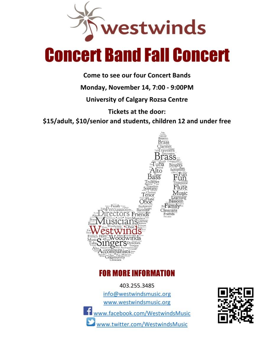 November   Food Bank Concert